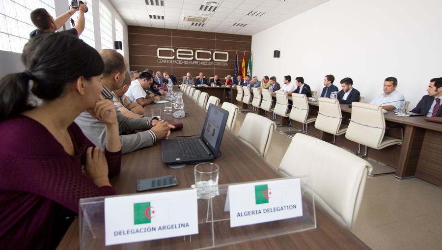 El Círculo de Comercio e Industria Hispano-Argelino se interesa por el futuro Clúster Halal de Córdoba