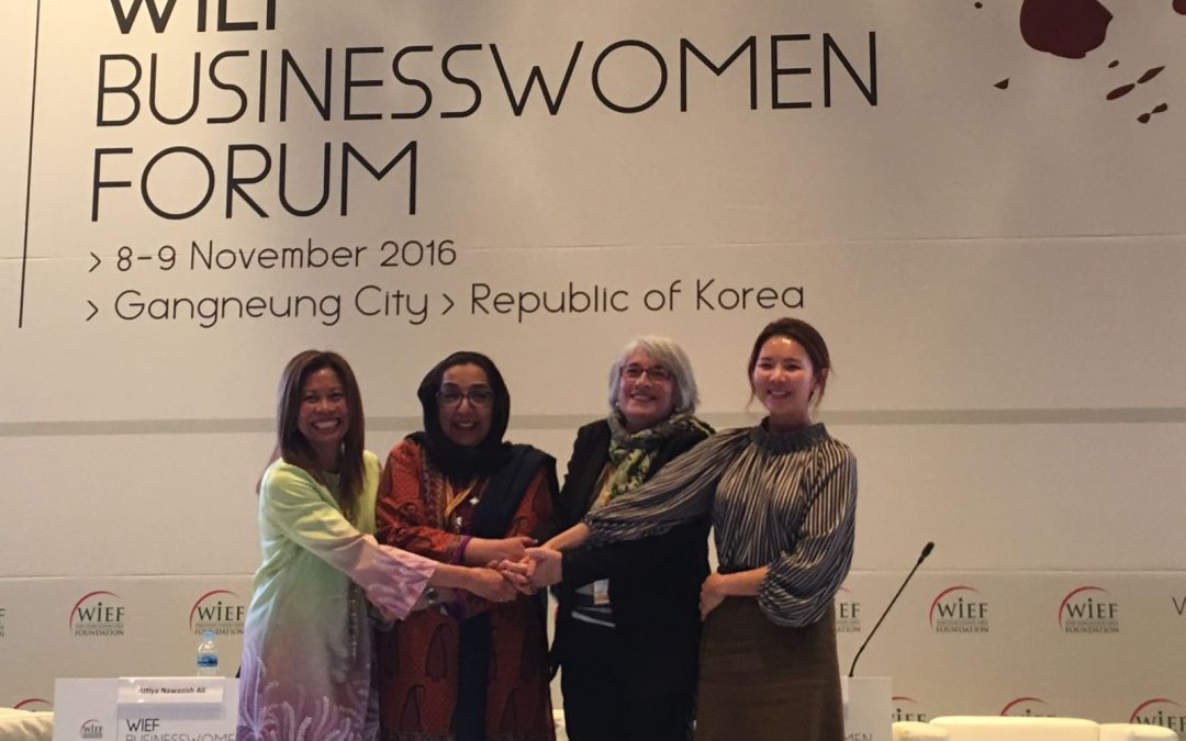 The Director of Instituto Halal participated in the Business Women Forum of World Islamic Economic Foundation in Korea