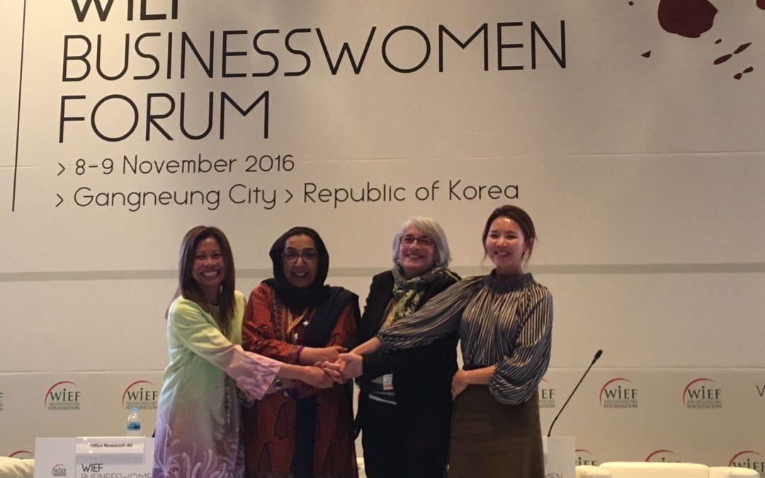 La directora del Instituto Halal participa en el Foro de Mujeres Empresarias de la World Islamic Economic Foundation en Corea