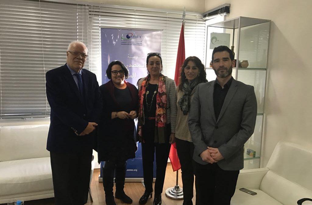 El Instituto Halal comparte su experiencia con la Asociación Marroquí de Exportadores