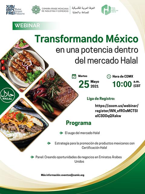 Webinars Transformando México para el mercado Halal